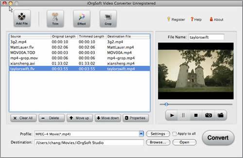 MPG to AVI Converter for Mac