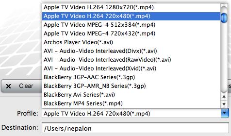 Tod to AVI Converter for Mac