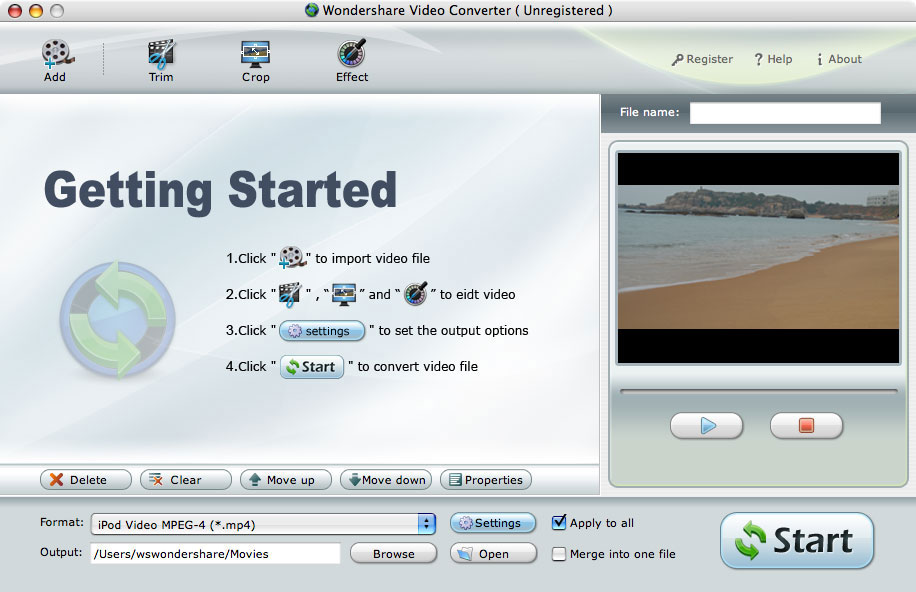 3G2 Video Converter for Mac OS