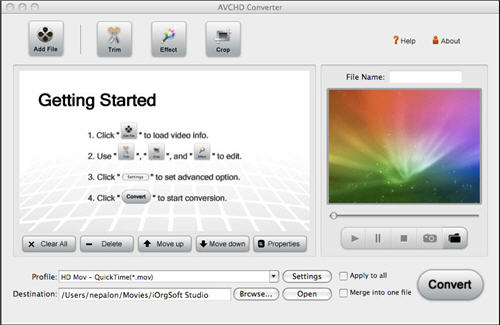 Video Converter for Mac OS X Snow Leopard OS X Snow Leopard